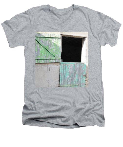 Green Stable Door Men's V-Neck T-Shirt