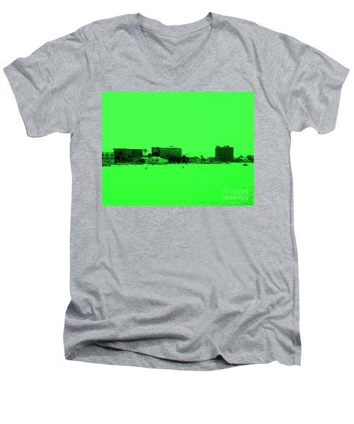 Green View. Special... Men's V-Neck T-Shirt