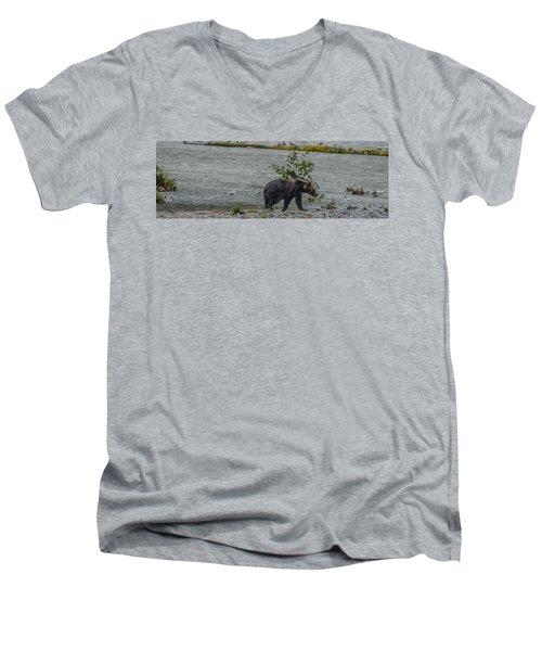 Grizzly Bear Late September 5 Men's V-Neck T-Shirt