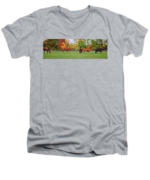 Group Activity Men's V-Neck T-Shirt