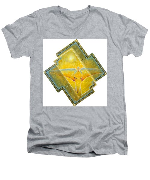 Guardian Of Light Men's V-Neck T-Shirt