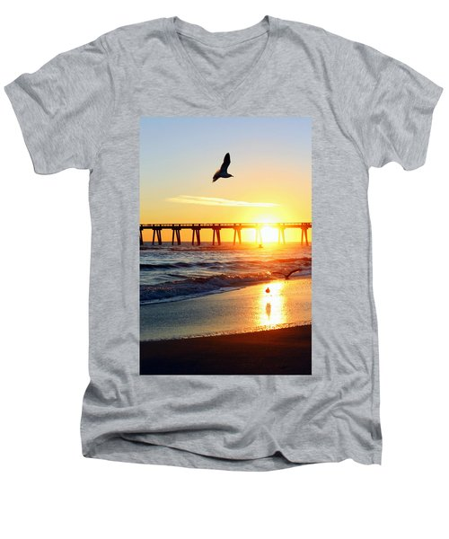 Guardians Of The Gulf Men's V-Neck T-Shirt