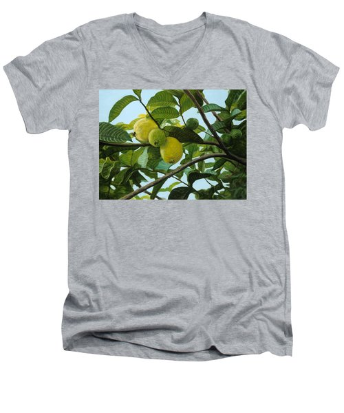 Guava Men's V-Neck T-Shirt