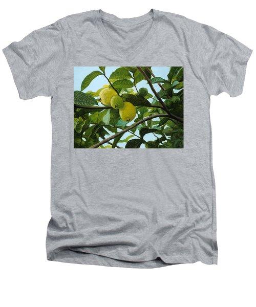Guava Men's V-Neck T-Shirt