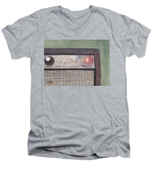 Guitar Amp Sketch Men's V-Neck T-Shirt
