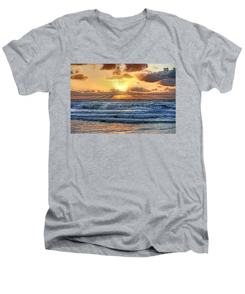Gulf Waters Men's V-Neck T-Shirt
