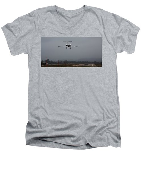 Gulfstream Approach Men's V-Neck T-Shirt