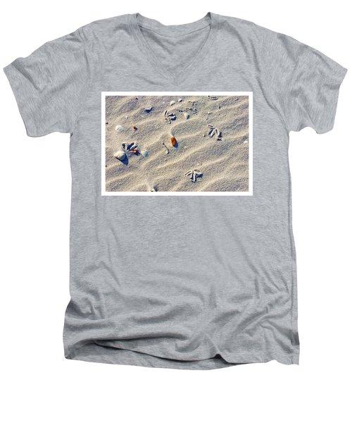 Gull Tracks Men's V-Neck T-Shirt