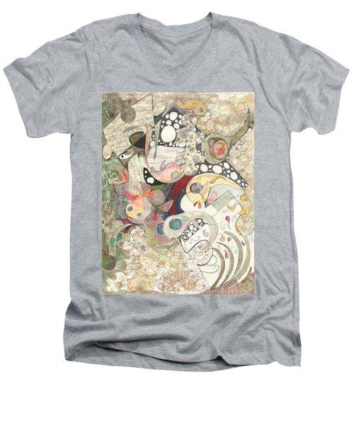 Guppies Galore Men's V-Neck T-Shirt