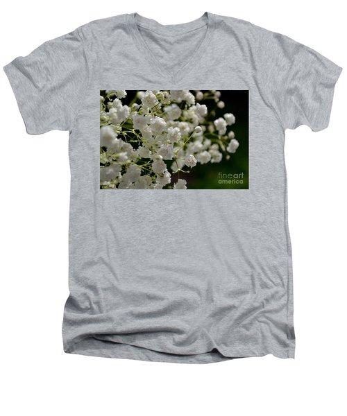 Gypsophilia Men's V-Neck T-Shirt