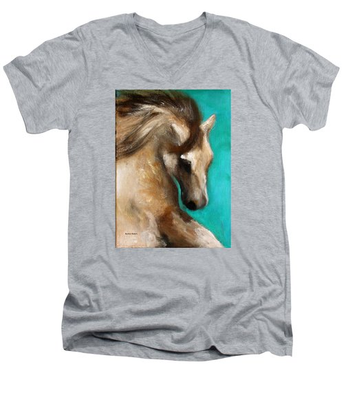 Gypsy Men's V-Neck T-Shirt by Barbie Batson