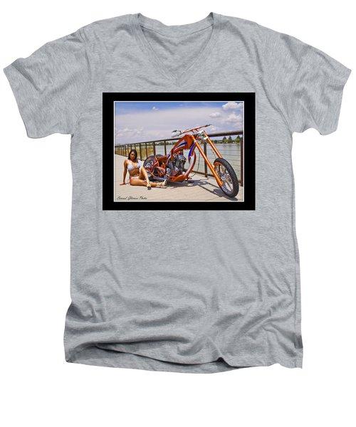 H-d_d Men's V-Neck T-Shirt