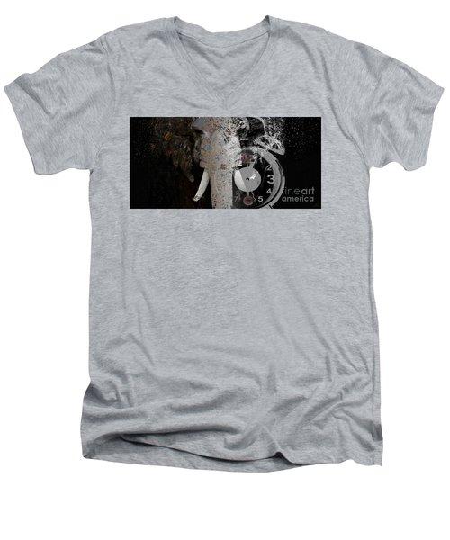 Half Past Extinction Men's V-Neck T-Shirt