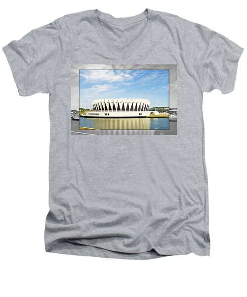 Hampton Coliseum Men's V-Neck T-Shirt