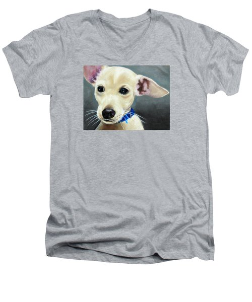 Hank Men's V-Neck T-Shirt
