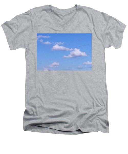 Happy Cloud Day Men's V-Neck T-Shirt