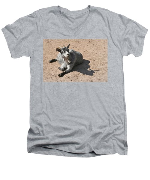 Happy Goat Men's V-Neck T-Shirt