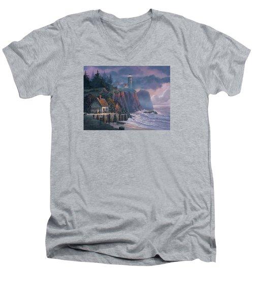 Harbor Light Hideaway Men's V-Neck T-Shirt