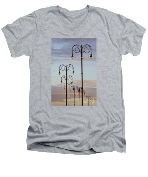 Harbor Lights Men's V-Neck T-Shirt