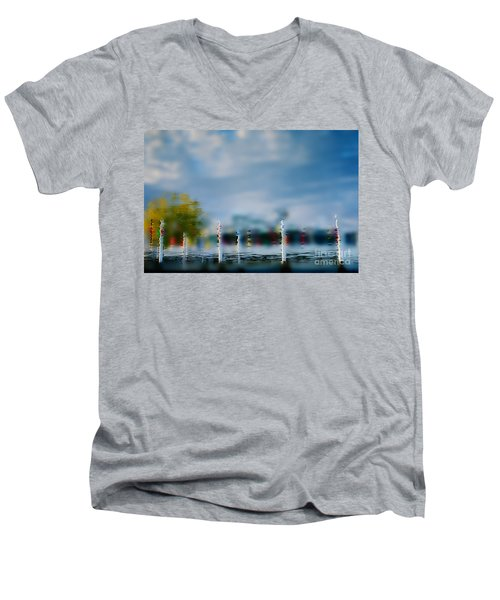 Harbor Reflections Men's V-Neck T-Shirt