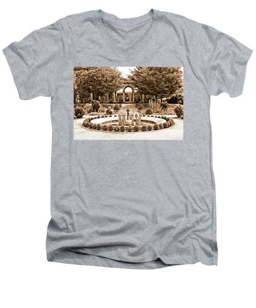 Harkness Estate Men's V-Neck T-Shirt by Marcia Lee Jones