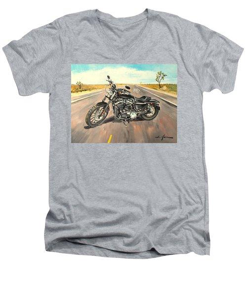 Harley Davidson 883 Sportster Men's V-Neck T-Shirt