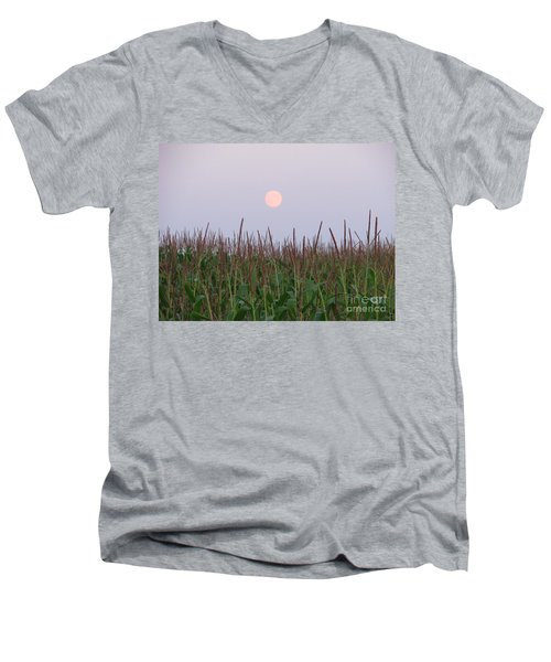 Harvest Moon Men's V-Neck T-Shirt