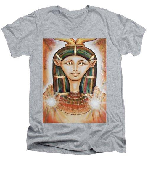 Hathor Rendition Men's V-Neck T-Shirt