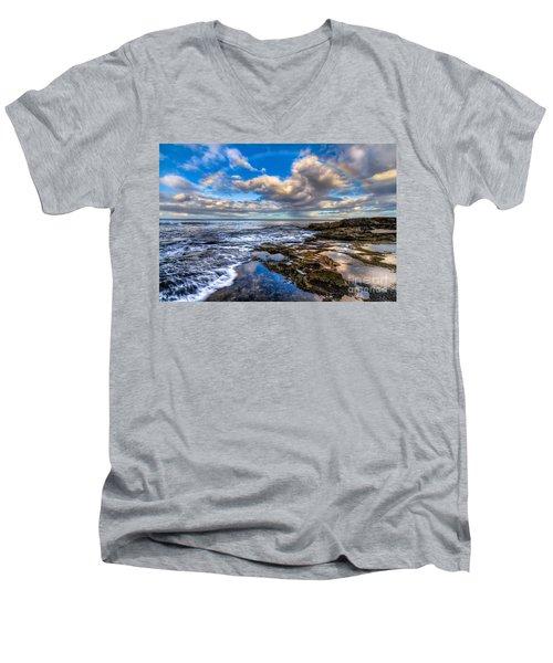 Hawaiian Morning Men's V-Neck T-Shirt