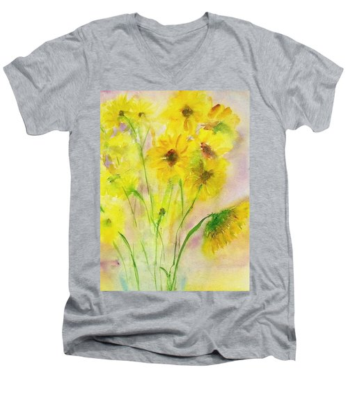 Hazy Summer Men's V-Neck T-Shirt