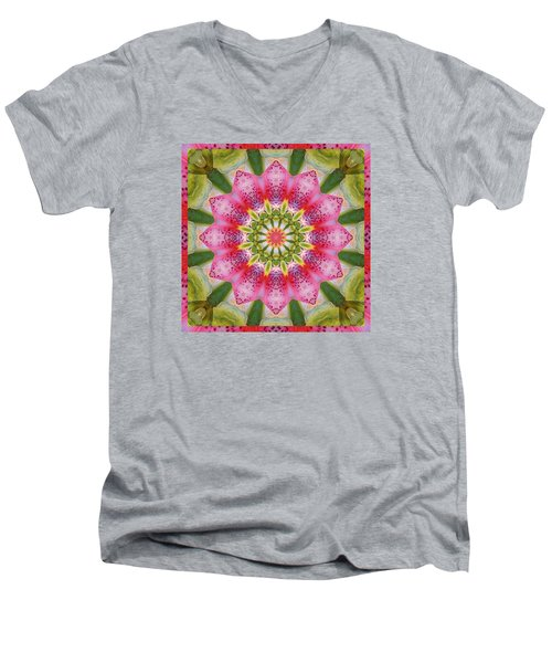 Healing Mandala 25 Men's V-Neck T-Shirt