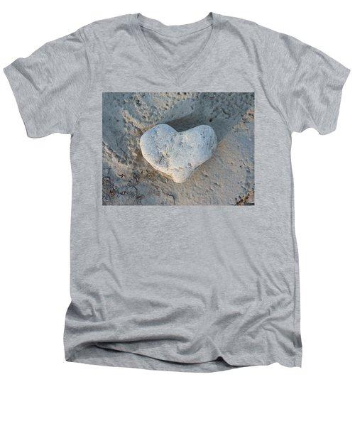 Heart Stone Photography Men's V-Neck T-Shirt