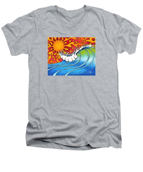 Heat Wave Men's V-Neck T-Shirt