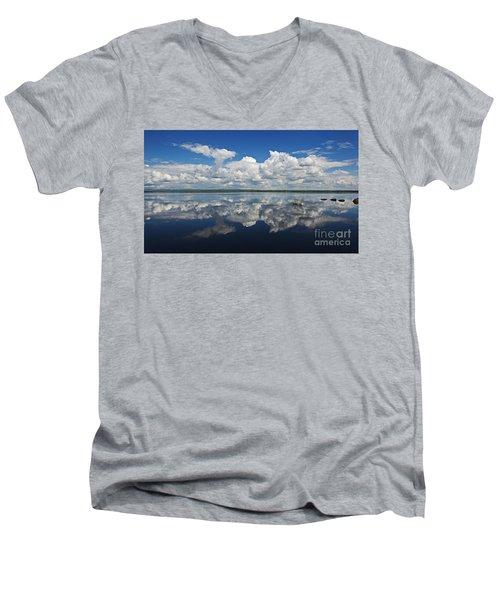 Heaven On Earth... Men's V-Neck T-Shirt