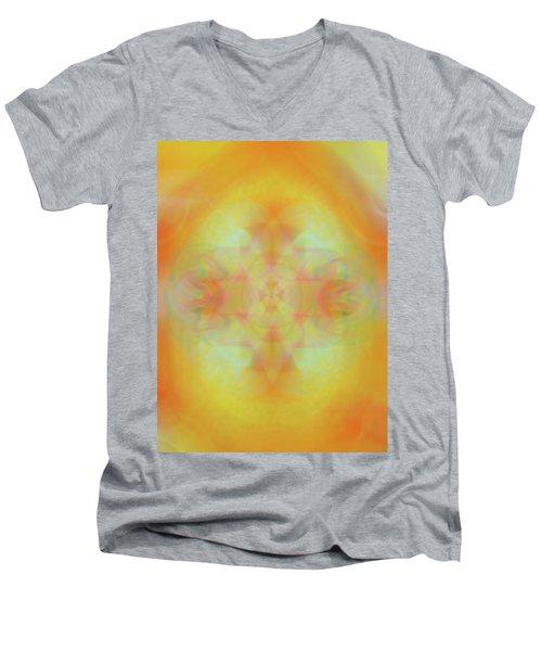 Heavenly Cross Men's V-Neck T-Shirt