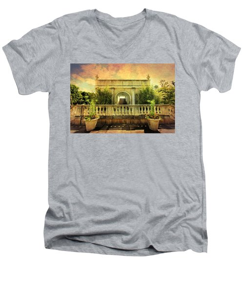 Heavenly Gardens Men's V-Neck T-Shirt
