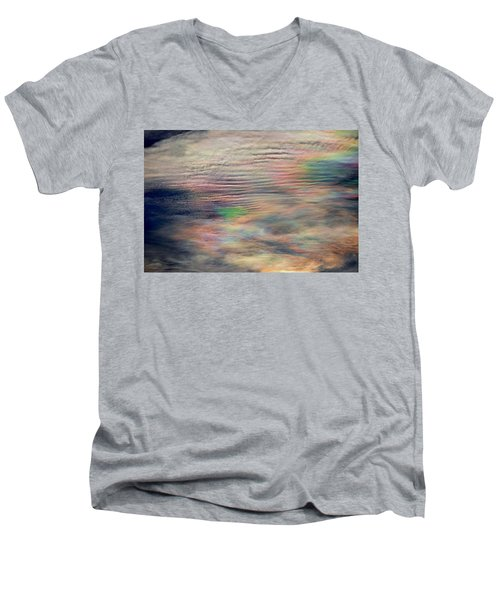 Men's V-Neck T-Shirt featuring the photograph Heavens Above by Charlotte Schafer