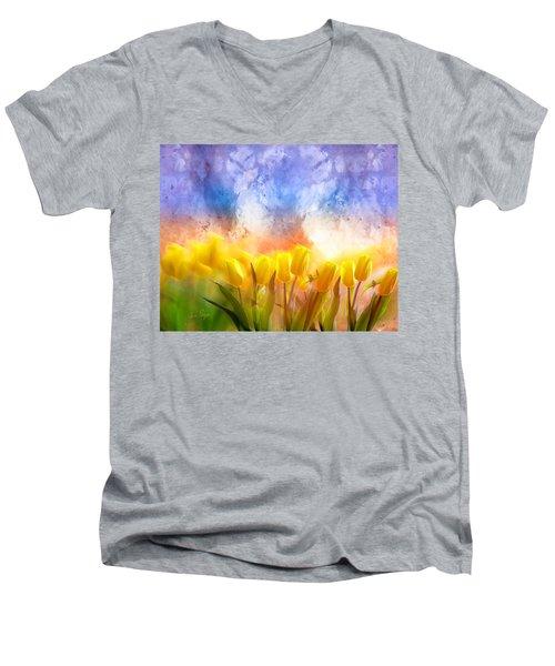 Heaven's Garden Men's V-Neck T-Shirt