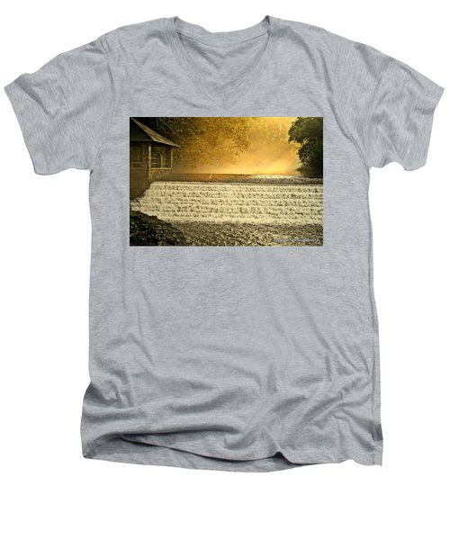 Heaven's Rays Men's V-Neck T-Shirt