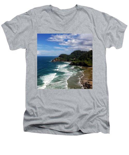 Heceta Head Men's V-Neck T-Shirt