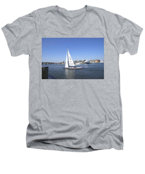 Heeling Men's V-Neck T-Shirt