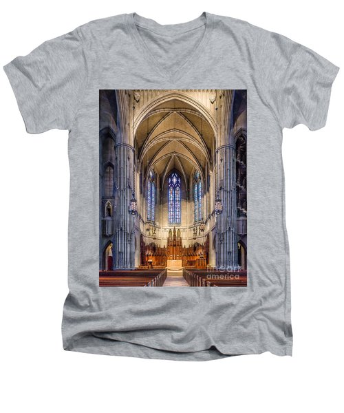 Heinz Chapel - Pittsburgh Pennsylvania Men's V-Neck T-Shirt