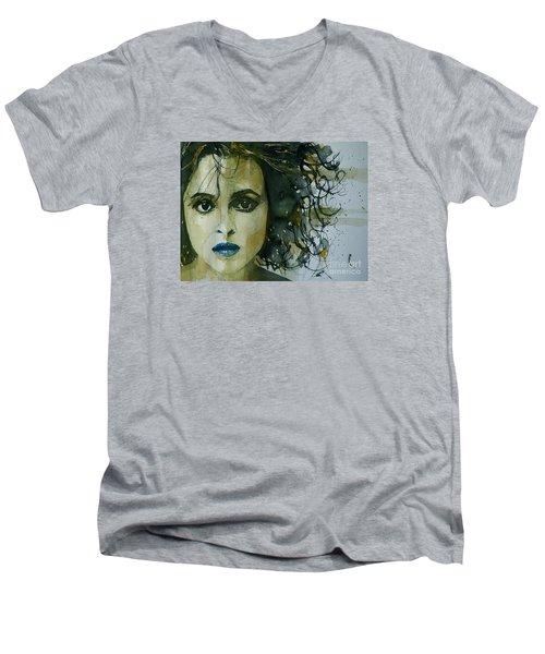 Helena Bonham Carter Men's V-Neck T-Shirt