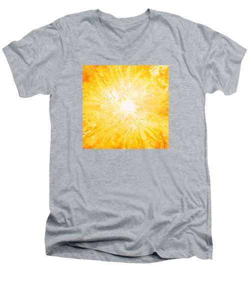 Here Comes The Sun Men's V-Neck T-Shirt by Kume Bryant