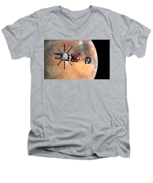 Hermes1 Mars Insertion Part 1 Men's V-Neck T-Shirt