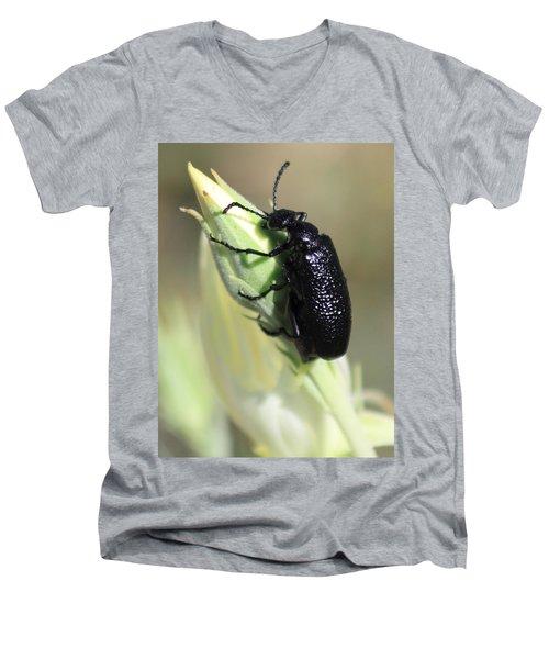 Hey Bud Men's V-Neck T-Shirt
