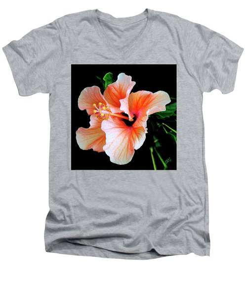 Hibiscus Spectacular Men's V-Neck T-Shirt