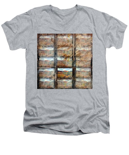 Hidden Valley Men's V-Neck T-Shirt
