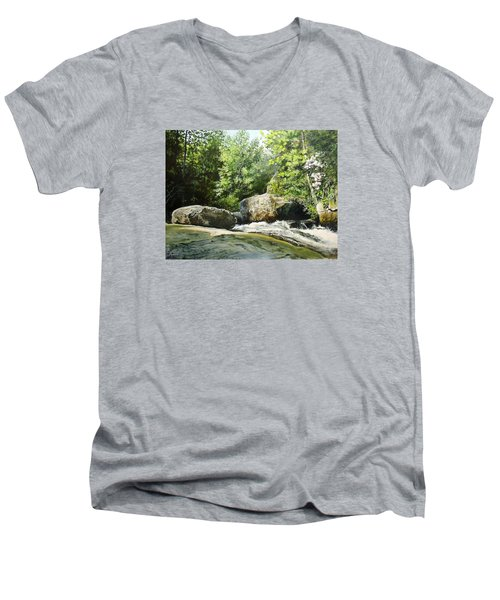 Hideaway Men's V-Neck T-Shirt