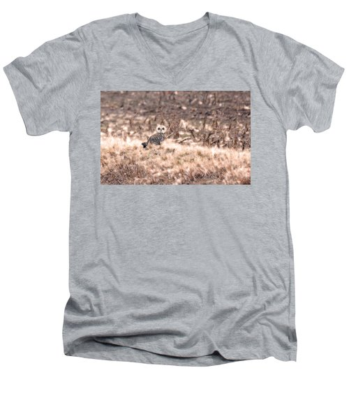 Hiding In Plain Sight Men's V-Neck T-Shirt